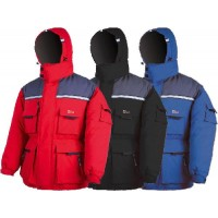 Куртка рыболовная зимняя NOVA TOUR &quot-Буран&quot- Н (48-50) черно-серый