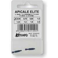 Наконечник-коннектор STONFO APICALE ELITE LINE CONNECTOR 1,0 мм (2шт)