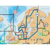 Карта Navionics Gold 44XG /SD (Балтика)