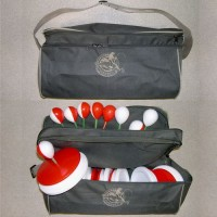 Кружки рыболовные в сумке 10 шт, диаметр 18 см (набор)
