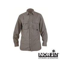 Рубашка NORFIN Cool Long Sleeve Gray (M)