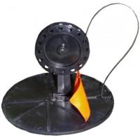 Жерлица на кругу ТРИ КИТА (подставка 200, катушка 90 мм)