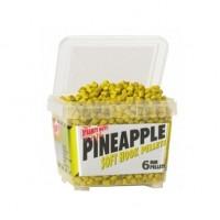 Пеллетс мягкий DYNAMITE BAITS Soft Hook Pellets Pineapple 6мм 0,5кг