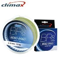 Плетеный шнур CLIMAX BR8 Mono-Braid Matt-Green 135m – 0,18 mm