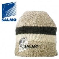 Шапка шерстяная вязаная SALMO с флисовой подкладкой — 302744-L