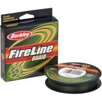 Плетеный шнур Berkley FireLine Braid Lo-Vis Green 110м (0,20мм)