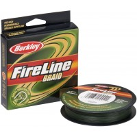 Плетеный шнур Berkley FireLine Braid Lo-Vis Green 110м (0,45мм)