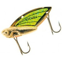 Блесна REEF RUNNER Cicada 1,75 г Gold/Chartreuse (201)