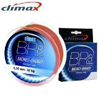Плетеный шнур CLIMAX BR8 Mono-Braid Hi-Vis Red 135m – 0,22 mm