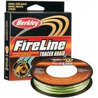 Плетеный шнур Berkley FireLine Tracer Braid 110м (0,14мм)