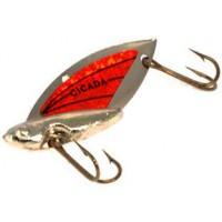 Блесна REEF RUNNER Cicada 1,75 г Nickel/Orange (103)