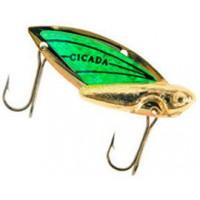 Блесна REEF RUNNER Cicada 1,75 г Gold/Green (202)