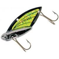 Блесна REEF RUNNER Cicada 10,5 г Black Nickel/Chartreuse (301)