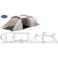 Палатка 2-х местная CAMPUS Triiest 2