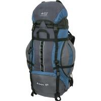 Рюкзак туристический NOVA TOUR &quot-Альфа 65&quot- (серый/серо-голубой)