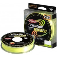 Плетеный шнур Berkley Fireline Tournament Exceed Green 110м (0,10мм)