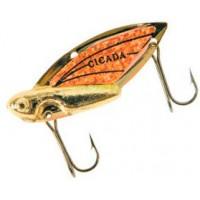 Блесна REEF RUNNER Cicada 1,75 г Gold/Orange (203)