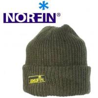 Шапка шерстяная вязаная NORFIN с подкладкой из флиса — 302810-L
