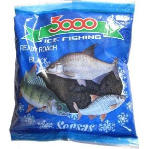 Прикормка зимняя SENSAS 3000 Ready Roach Black 0,5кг