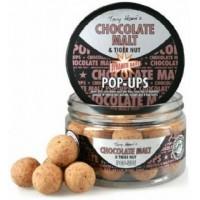 Бойлы плавающие DYNAMITE BAITS 15 мм. Chocolate Malt & Tiger Nut Pop-Ups