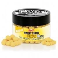 Бойлы плавающие DYNAMITE BAITS 10 мм. Sweet Tiger Washed-Out Fluro Pop-ups