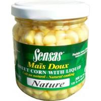Зерна кукурузы натуральные SENSAS Sweetcorn Natural 212 г - 09227