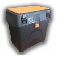 Ящик рыболовный зимний A-ELITA (черн+оранж)