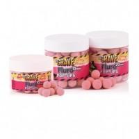 Бойлы плавающие DYNAMITE BAITS 10 мм. The Crave Pink Fluro Pop-ups