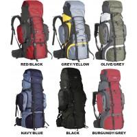 Рюкзак треккинговый CAMPUS Elbrus 80+20 (olive/grey)