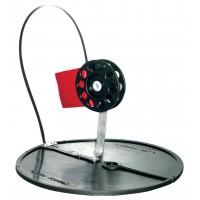 Жерлица на кругу (подставка 200 мм, катушка 63 мм)