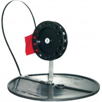 Жерлица на кругу (подставка 200 мм, катушка 90 мм)