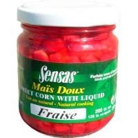 Зерна кукурузы, клубника SENSAS Sweetcorn Strawberry 212 г - 09250