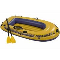 Надувная лодка INTEX Challenger 2 Set 68367